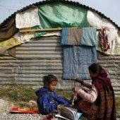 Nepals Erdbebenopfer müssen auf Hilfe warten