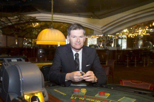 Casino-Bregenz-Direktor Bernhard Moosbrugger hat ein erfolgreiches Jubiläumsjahr hinter sich.