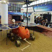 China arbeitet weiter an Mars-Mission