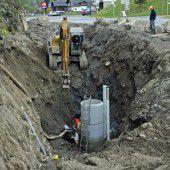 Schadstoffe beim Kanalbau