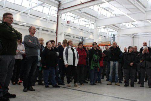 Das Zumtobel-Werk in Usingen wird mit Ende August geschlossen. Am Donnerstag wurden die Mitarbeiter informiert.