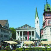 Am Freitag erblüht die Dornbirner Innenstadt