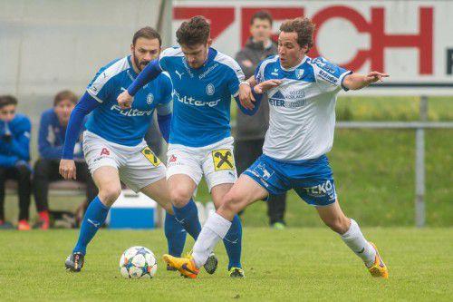 Der FC Lustenau konnte sich über einen Sieg freuen.