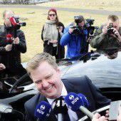 Islands Premier tritt zurück