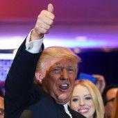 Trump zieht Rivalen davon
