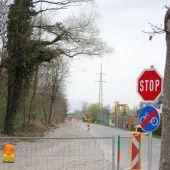 Neuer Radweg in Nüziders am Entstehen