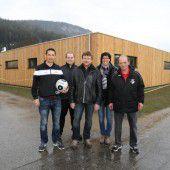Neuer Kabinentrakt für die Altenstädter Kicker
