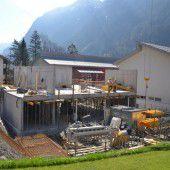 Gemeindehaus nimmt Form an