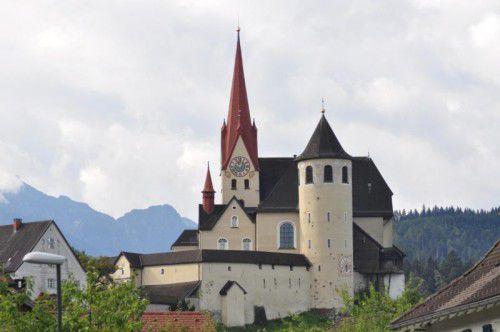 Die Basilika Rankweil ist am 1. Mai Ziel des Landeswallfahrtstags.