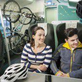 ÖBB bringen mehr Fahrräder auf Schiene