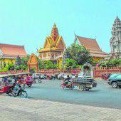 Die letzten Rikschas in Phnom Penh