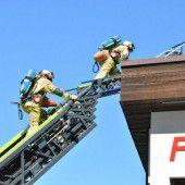 Feuer am eigenen Dach