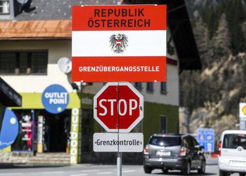 Österreich hatte im Zuge der Flüchtlingskrise die Wiedereinführung von Grenzkontrollen am Brenner erwogen. Foto: reuters