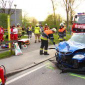 Drei Frauen bei Unfall verletzt
