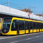Längste Straßenbahn bestand Jungfernfahrt
