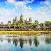 Tempelanlage Angkor Wat lockt die Besucher