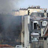 17 Verletzte nach  Gasexplosion in Paris