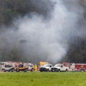 Fünf Touristen sterben bei Flugzeugabsturz