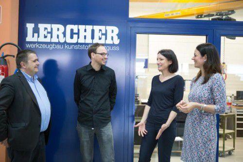 Dominik Lercher ist für den Werkzeugbau zuständig, Sandra Ender-Lercher kümmert sich um den Kunststoffspritzguss und das Kaufmännische.