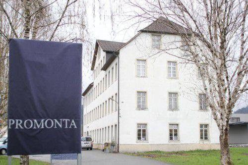 Ende April soll der Umbau des ehemaligen Promonta-Gebäudes abgeschlossen sein.