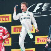 Rosberg fährt in einer eigenen Welt