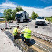 Baupause auf Ländle-Autobahn