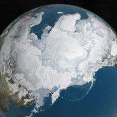 Arktis-Eis schrumpft auf Winter-Minimum