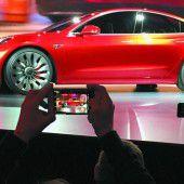 Riesiger Rummel um das Model 3 von Elektro-Pionier Tesla