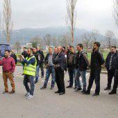 Demo gegen Terror vor Konsulat