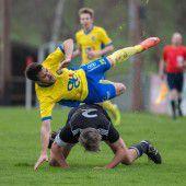 Hohenems eine Nummer zu groß für FC Sulzberg