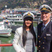 Tag der Schifffahrt lockte bei strahlendem Sonnenschein Tausende Besucher an den Bregenzer Hafen
