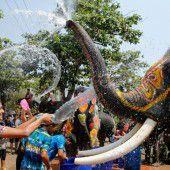 Wasser marsch! in Thailand