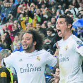Drei Ronaldo-Tore sichern Real Madrid das Champions-League-Halbfinale