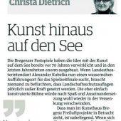 Bregenz bräuchte dringend künstlerische Belebung