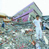 Hunderte Tote bei stärkstem Erdbeben seit Jahrzehnten in Ecuador