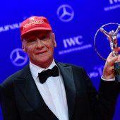Laureus für Niki Lauda