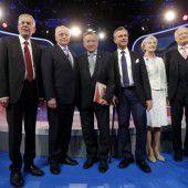 Kandidaten im Finale
