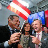 Wahlsensation: Freiheitliche nehmen Kurs auf die Hofburg