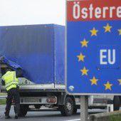 Grenzkontrollen im Burgenland gestartet