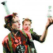 Kindertheaterstück Drosselbart oder die übermütige Prinzessin, heute um 15 Uhr in der Remise Bludenz.