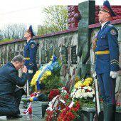Ukraine erinnert an Super-GAU von Tschernobyl vor 30 Jahren