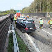 Vier Verletzte bei Unfall vor St. Margrethen