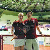 Badmintonduo mit Olympiaticket