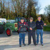 Mit dem Traktor an die spanische Costa Blanca