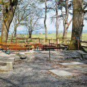 Neuer Kiosk im Rheinholz bis Ende Mai