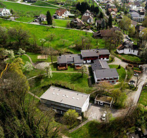 Das große Areal des ehemaligen Heilpädagogischen Zentrums in Feldkirch soll wiederbelebt werden. Foto: VN/Roland Paulitsch