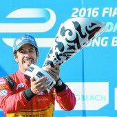 Di Grassi führt nach Sieg die Formel E an
