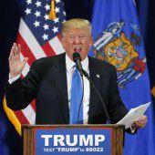 Trump drängt Rivalen Kasich zur Aufgabe