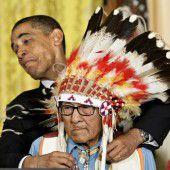 Ureinwohner trauern um letzten Kriegshäuptling
