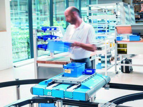 Kernstück des Servus-Baukastens ist der autonome und intelligente Autonomous Robotic Carrier (ARC) der dritten Generation.